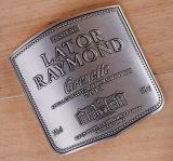 Высокое качество постоянных металлические наклейки этикетки
