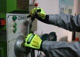 Установите противоскользящие Impact-Resistant TPR Механические узлы и агрегаты рабочие перчатки