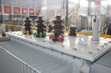 Pôle a monté le transformateur électrique de tension du bloc d'alimentation 3phase