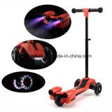 Красочный мигает 3 Колеса электрического скутера для детей