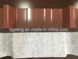 Material para techos revestido del metal del color anti de Corrossion con fieltro de fijación por adsorción sano