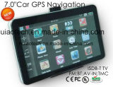 "ODM ISDB-TV 7.0"" Alquiler de carretilla Marine, navegación GPS con transmisor de FM, AV-en la cámara trasera, dispositivo de navegación GPS, Bluetooth para teléfono móvil, TMC Tracker"