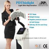 PDT Biolight y máquina del salón de belleza del cuidado de piel del vacío