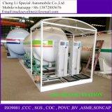 5000-12000liters GLP het Vullen van de Tank van de Opslag van het Vloeibare Gas van LPG Machine