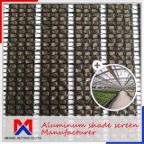 幅1m~4mの制御温度のためのアルミニウムカーテンの気候の陰のネット
