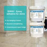 Dos componentes ayunan curando el sellante estructural de epoxy del silicón para la piedra