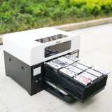 De Printer van het UV LEIDENE Glas van de Lamp DVD aan Af:drukken