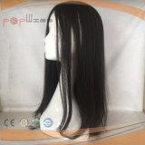 Perruque en soie de Sheitel de cheveux humains première (PPG-l-0406)