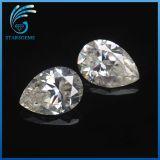 1 قيراط ممتازة باهر قطعة كم شكل [6إكس8مّ] [مويسّنيت] حجر كريم