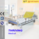 Thr-MB5583 4Manual manivela cama de hospital con cajón