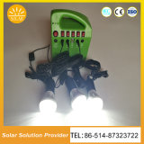 Nuevo Sistema de Iluminación Solar 5W Kits Solares Portátiles al Aire Libre