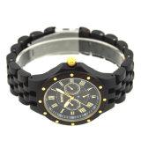 Het milieuvriendelijke OEM van de Giften van de Aard Met de hand gemaakte Houten Horloge van het Embleem van de Douane