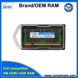 수명 보증 가득 차있는 호환성 휴대용 퍼스널 컴퓨터 DDR2 4GB 렘
