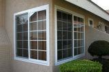 Пассивный алюминий сползая Windows вентиляции с прокатанным стеклом