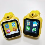 아이를 위한 사진기를 가진 3G GPS 추적자 지능적인 시계