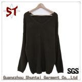 Venda por grosso grande casual de alta qualidade a gola V suéter unissexo para
