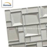 Mattonelle Iridescent del sottopassaggio di cristallo della cucina dello specchio del mosaico a cristallo della parete
