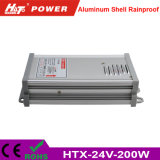 24V 8A 세륨 RoHS Htx 시리즈를 가진 방수 LED 전력 공급