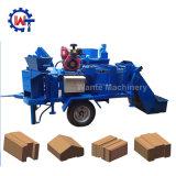 M7mi 두 배 압박 환경 자동적인 찰흙 벽돌 만들기 기계