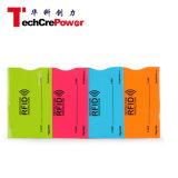 Costume RFID que obstrui a luva do cartão/luva de papel de alumínio do cartão de crédito Sleeve/RFID
