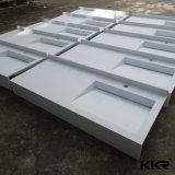 Kkrのヨーロッパの現代人工的な石造りの浴室手の洗面器(B170927)
