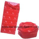 Cópia personalizada produto 25*50cm Microfiber Headwear Multifunctional sem emenda do urso dos desenhos animados da fábrica de China