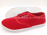 Классический женщин отдыхающих Canvas Sneaker Pimps обувь на заводе (FPY818-13)