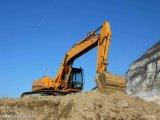 地球移動機械装置8-22のトンの車輪の掘削機