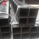Tubo de acero hueco negro de carbón de ms Sqaure Tube de la sección