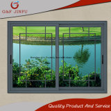 Commercial Use Brief Aluminum Sliding Window with Strong Tempered Glass