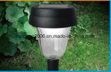 LED-Edelstahl-angeschaltenes Rasen-Garten-Pfad-Solarlicht