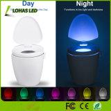 Toiletten-Licht USB-imprägniern nachladbares Toiletten-Filterglocke-Licht IP65 des Fühler-LED Nachtlicht des PIR Bewegungs-Fühler-LED