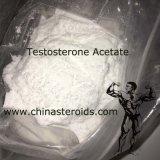 Acetato seguro da testosterona dos esteróides do Bodybuilding de 98% no pó branco