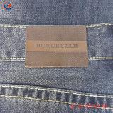 Оптовая торговля на заводе прямым образом пользовательские джинсы наклейка из натуральной кожи