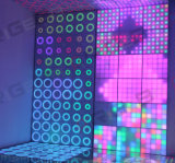 61*61cm en 1 LED RGB 3 Panel de pared dinámico