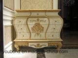De witte Klassieke Elegante Inzameling van de Zaal van het Bed van de Stijl