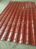 鋼板の工場価格の反Corrossionによって波形を付けられる金属の屋根ふきを着色しなさい