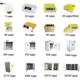 Manufactory eléctrico automático de 3168 de los huevos de las incubadoras del precio aplicaciones de Nanchang Howard