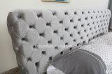 Base molle di cuoio moderna della mobilia domestica di Chesterfield