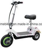 3つの車輪が付いている500W電気スクーター