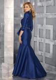 Платье мати с мантией вечера королевской сини повелительниц Mermaid куртки