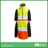 Конструкция изготовления одевая куртку зимы отражательной безопасности 3m тяжелую