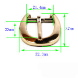 A curvatura de correia quente do Pin da curvatura do chicote de fios da liga do zinco do metal da venda para o vestuário calç as bolsas (Yk1268)