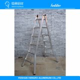 Double-Function Profile Ladder Metal Aluminum Extrusion Aluminium Alloy Ladder
