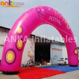 開始のための膨脹可能な円形の整形アーチを飾る広州の製造者の祝祭