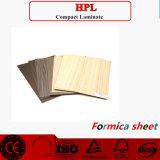 Las hojas de HPL de madera