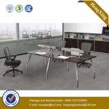 Bureau exécutif de bureau en métal en verre chinois de meubles premier (UL-NM120)