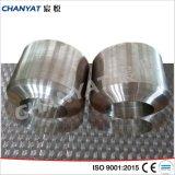 Refuerzos de acero inoxidable 1.4541 atornillado, X6crniti1810 Adaptador de soldadura