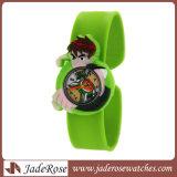 만화 Children 시계 시계 Gift&#160가 귀여운 손목 시계 형식 소녀 소년 아이 실리콘 쿼트 시계 학생에 의하여;