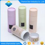 Tube de carton imprimés personnalisés pour des sels de bains avec fenêtre